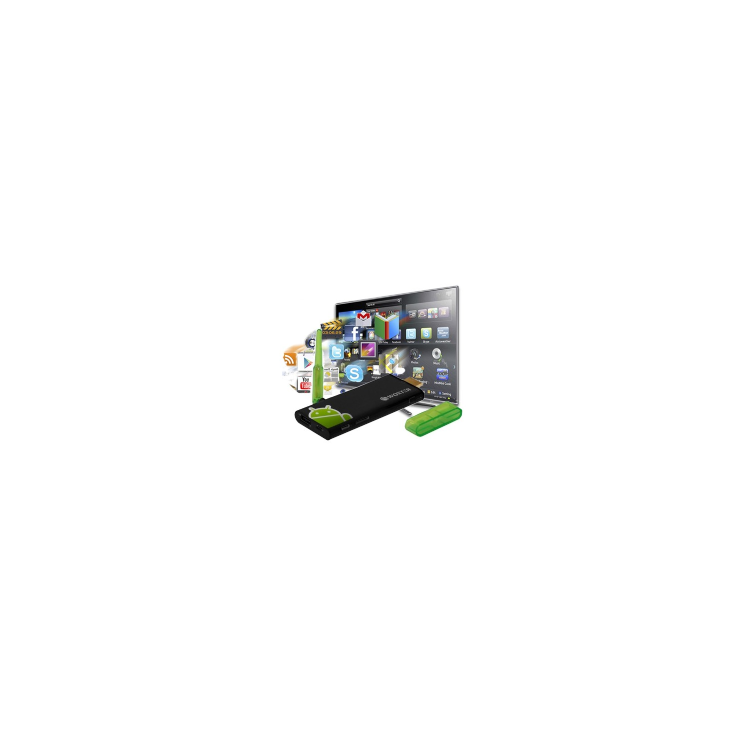 Woxter Android TV Stick 300 - woxter