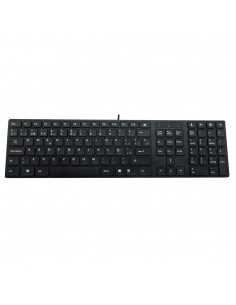 Woxter Slim Keyboard K 200 Black