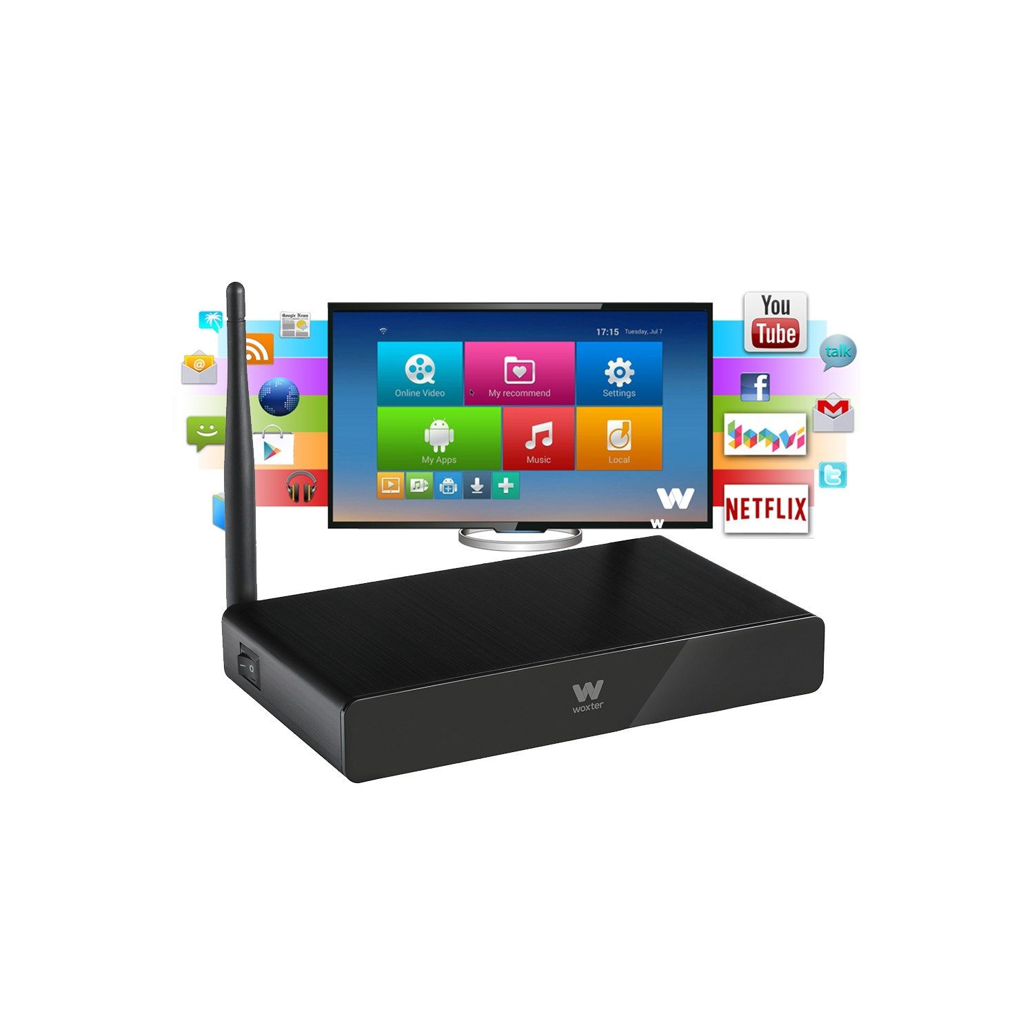Woxter Android Tv 900 Woxter