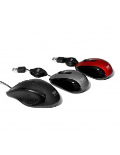 Woxter Netmouse V 120 Retractil Blue