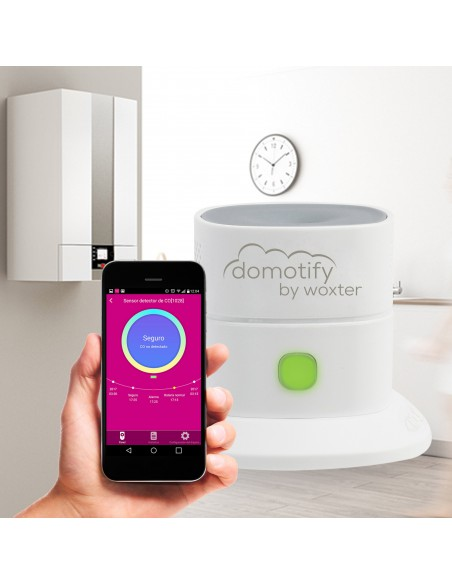 Sensor de de monoxido de carbono  domotica