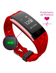 smartwatch smartfit 15 red