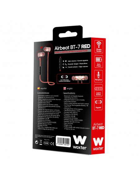 WOXTER AIRBEAT BT-7 RED