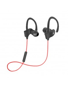 WOXTER AIRBEAT BT-9 RED- Auriculares Inalámbricos