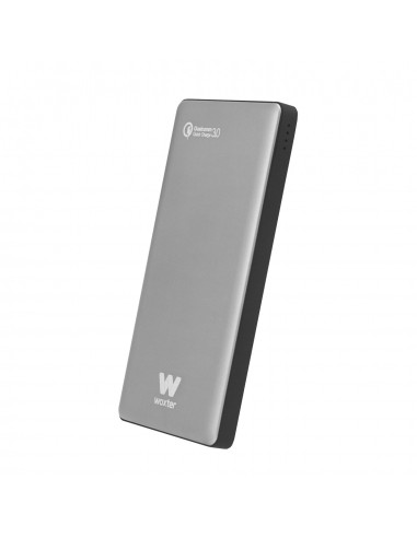 Power Bank Qc 10500 Silver - Batería Portátil QC