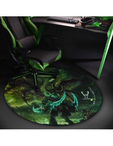 Woxter Stinger Floorpad Green - Alfombra Gaming