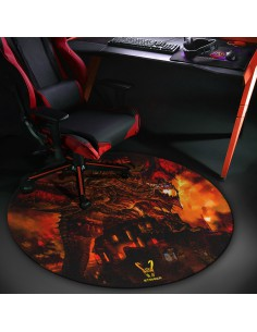 Woxter Stinger Floorpad Red - Alfombra Gaming