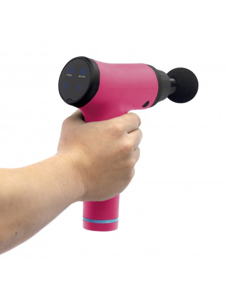Woxter Fit Gun Pink - Pistola de Masaje
