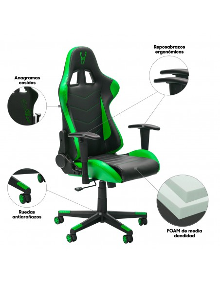 Woxter Stinger Station Green - Silla Gaming