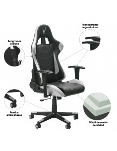 Woxter Stinger Station White - Silla Gaming