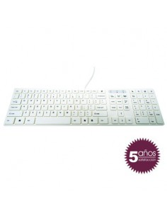Woxter Slim Keyboard K 200 White
