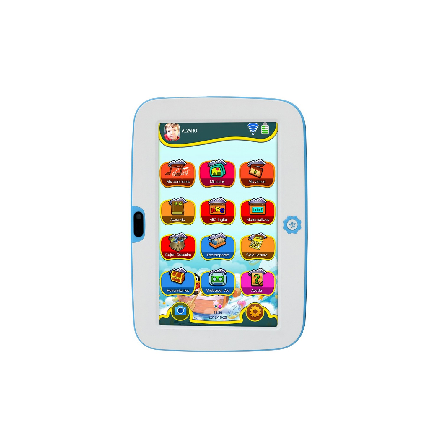Woxter tablet sr nilson lite 7 woxter for Piscinas hinchables alcampo